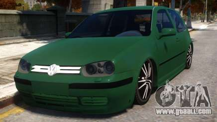 Golf 4 GTI v1.2 for GTA 4