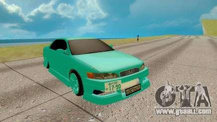 Toyota Mark 2 azure for GTA San Andreas