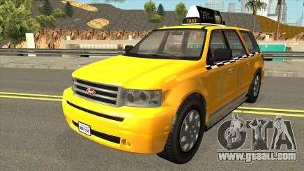 GTA V Vapid Taxi IVF for GTA San Andreas