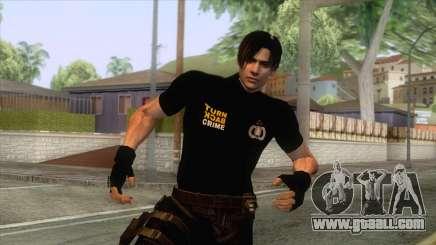Leon Intel Cop Skin 2 for GTA San Andreas