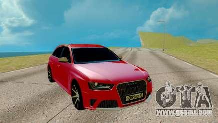 Audi RS 4 for GTA San Andreas