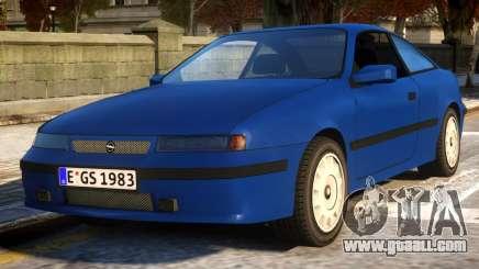 Opel Calibra Basic v2 for GTA 4