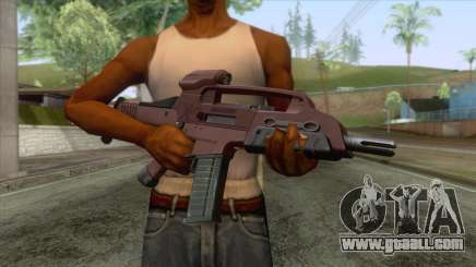 XM8 Compact Rifle Red for GTA San Andreas