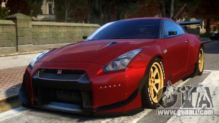 Nissan GTR R35 Rocket Bunny Beta for GTA 4