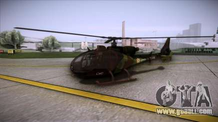 SA.341 GAZELLE Wargame: Red Dragon for GTA San Andreas