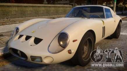 1962 Ferrari 250 GTO for GTA 4