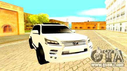 Lexus LX 450D FL Executive for GTA San Andreas