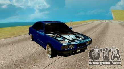 BMW M5 E34 blue for GTA San Andreas