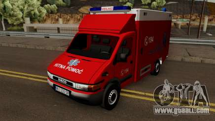 Iveco Daily Mk2 Hitna Pomoc (RTW) for GTA San Andreas