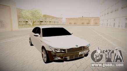 BMW M5 E60 white for GTA San Andreas