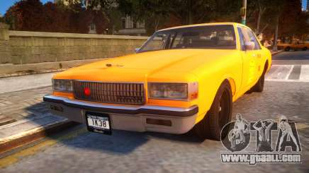 1985 Chevrolet Caprice NYC Taxi for GTA 4