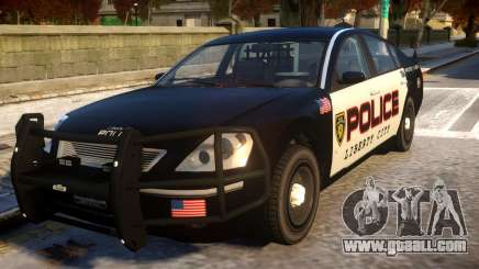 Pinnacle Police (LCPD) 1.0 for GTA 4
