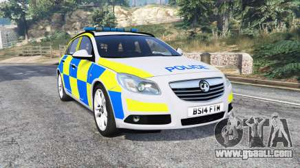 Vauxhall Insignia Tourer Police v1.1 [replace] for GTA 5