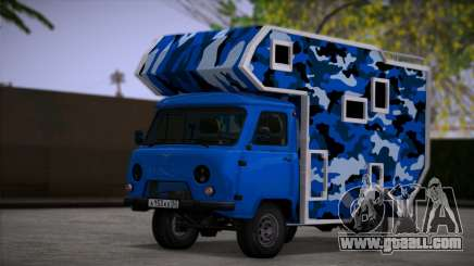 UAZ 39094 House on wheels for GTA San Andreas