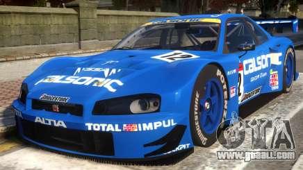 2003 Nissan Skyline JGTC for GTA 4