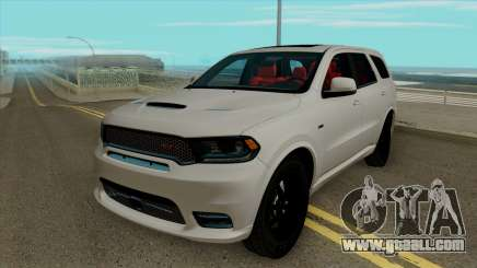 Dodge Durango SRT 2018 for GTA San Andreas