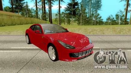 Ferrari GTC4 for GTA San Andreas