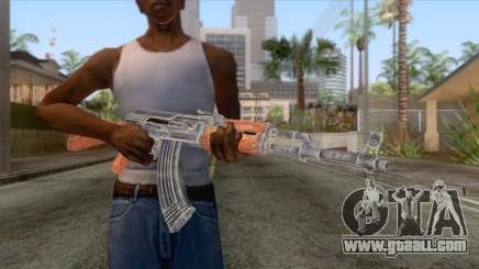 AK-47 Assault Rifle HQ for GTA San Andreas