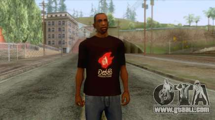 Wasthi T-Shirt for GTA San Andreas