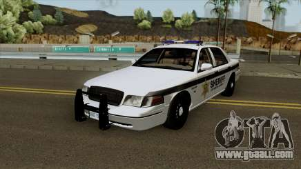 Ford Crown Victoria Sheriff Department for GTA San Andreas