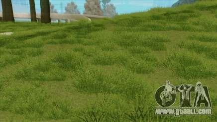New vegetation HQ for GTA San Andreas