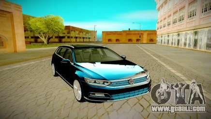Volkswagen Passat Variant R 2016 for GTA San Andreas