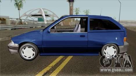 Suzuki Swift 1-Gen 1.3 for GTA San Andreas