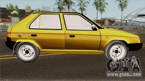 Skoda Favorit 135L for GTA San Andreas