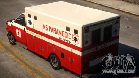 Ambulance Real New York for GTA 4
