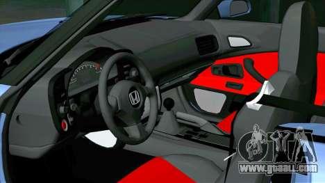 Honda S2000 Liftface Stock for GTA San Andreas