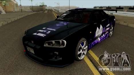 Nissan Skyline GT-R Spec VII 2002 Tunable for GTA San Andreas