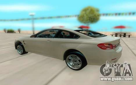 BMW M4 for GTA San Andreas right view