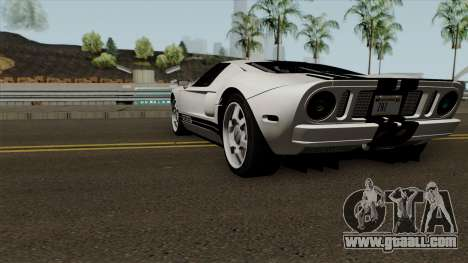 Ford GT 2005 for GTA San Andreas back left view
