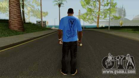 T-shirt with a snake for GTA San Andreas