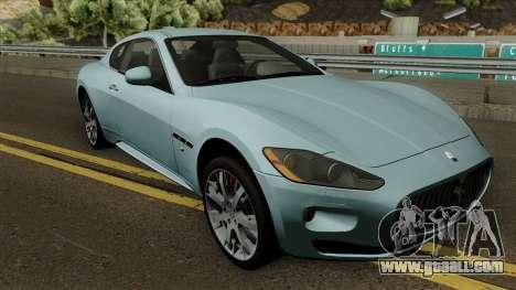Maserati Gran Turismo S 2011 for GTA San Andreas