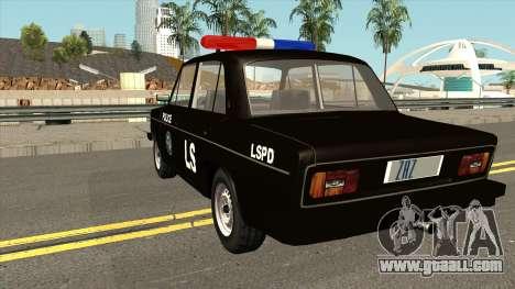 VAZ 2106 SA Style Police for GTA San Andreas