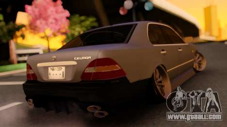 Toyota Celsior ufc-30 for GTA San Andreas