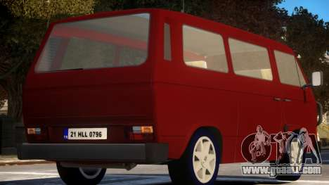 Volkswagen Transporter T3 for GTA 4