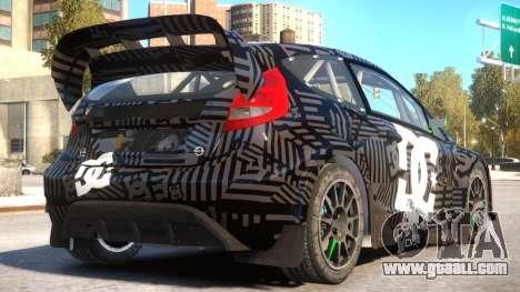 Ford Fiesta Rallycross (DiRT3) V.1.2 for GTA 4