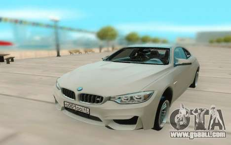 BMW M4 for GTA San Andreas back view