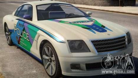 Fusilade V6 3.0i Cop Car for GTA 4