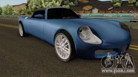 Stinger HD for GTA San Andreas inner view