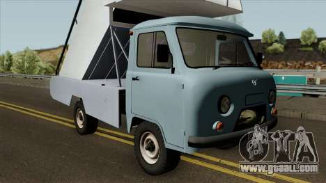 UAZ 452Д TPN-22 for GTA San Andreas inner view