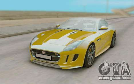 Jaguar F-Type for GTA San Andreas