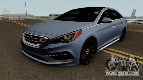 Hyundai Sonata 2017 for GTA San Andreas
