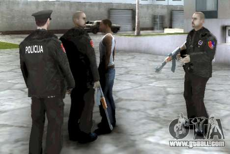 Kanton Sarajevo Police Officers Pack for GTA San Andreas