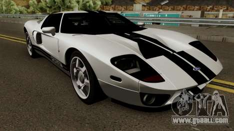Ford GT 2005 for GTA San Andreas inner view