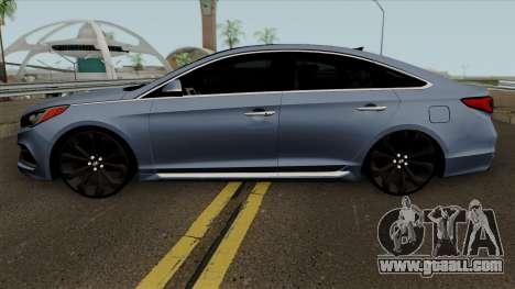 Hyundai Sonata 2017 for GTA San Andreas left view