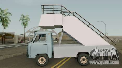 UAZ 452Д TPN-22 for GTA San Andreas left view