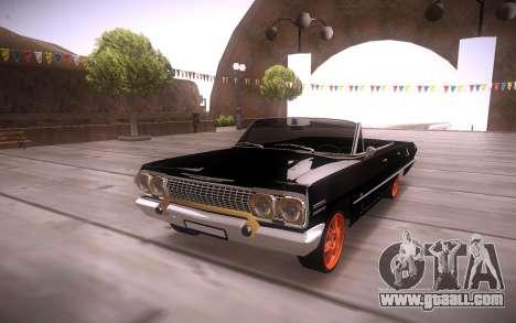 Chevrolet Impala for GTA San Andreas